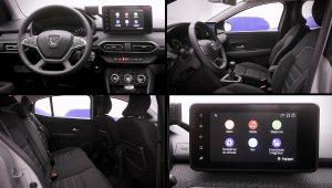 2021 Dacia Logan Interior