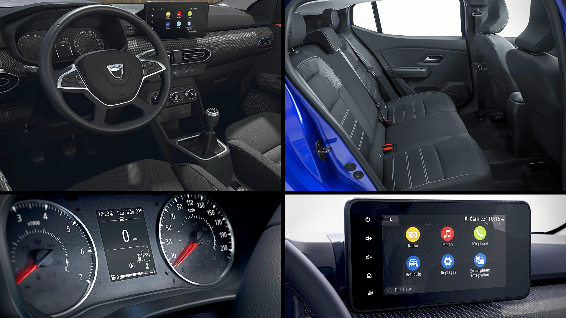 2021 Dacia Sandero Inside Interior