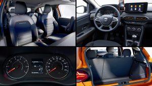 2021 Dacia Sandero Stepway Interior