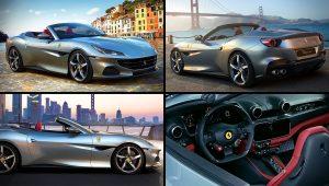 2021 Ferrari Portofino Convertible Images