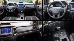 2021 Ford Ranger Tremor Inside Interior