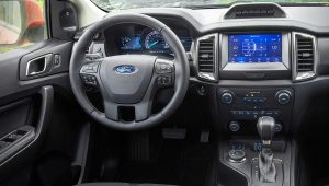 2021 Ford Ranger Tremor Interior