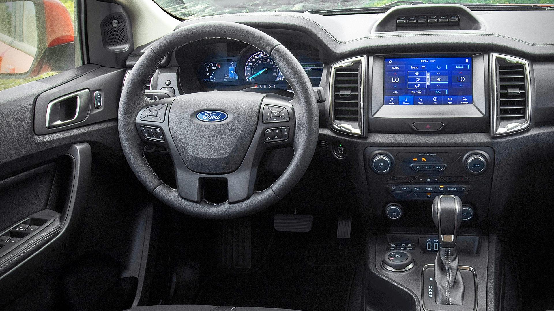 2021 Ford Ranger Tremor Interior