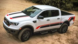 2021 Ford Ranger Tremor White