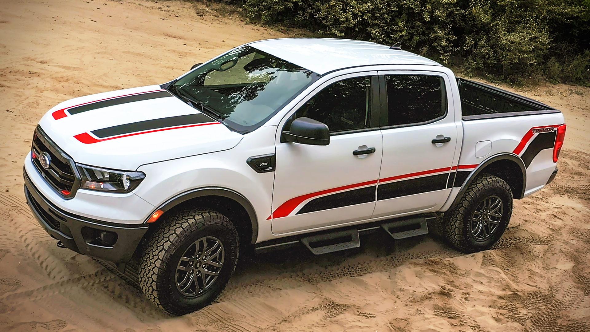 2021 Ford Ranger Tremor White