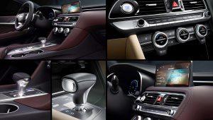 2021 Genesis G70 Interior Inside