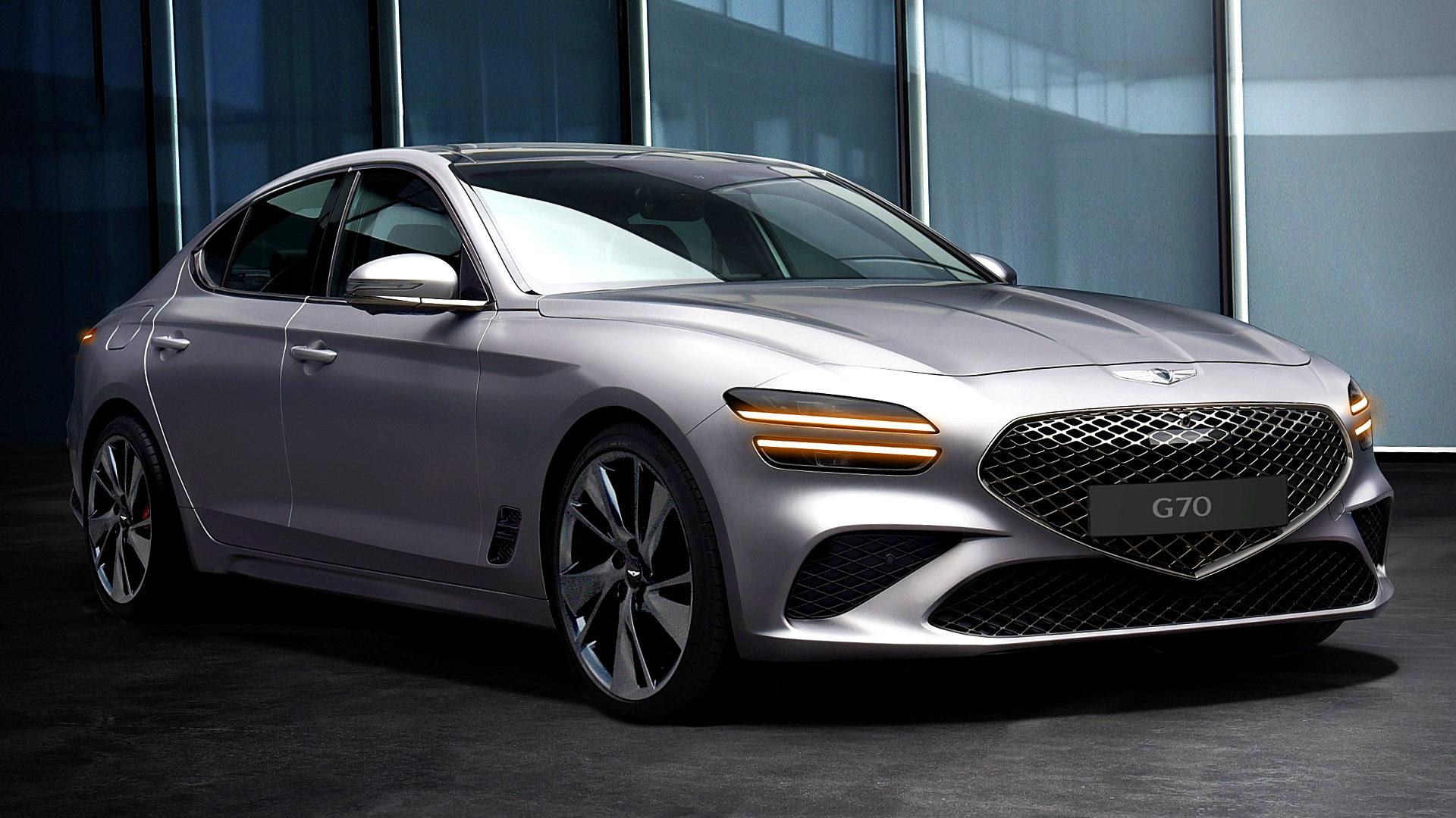 2021 Genesis G70 1