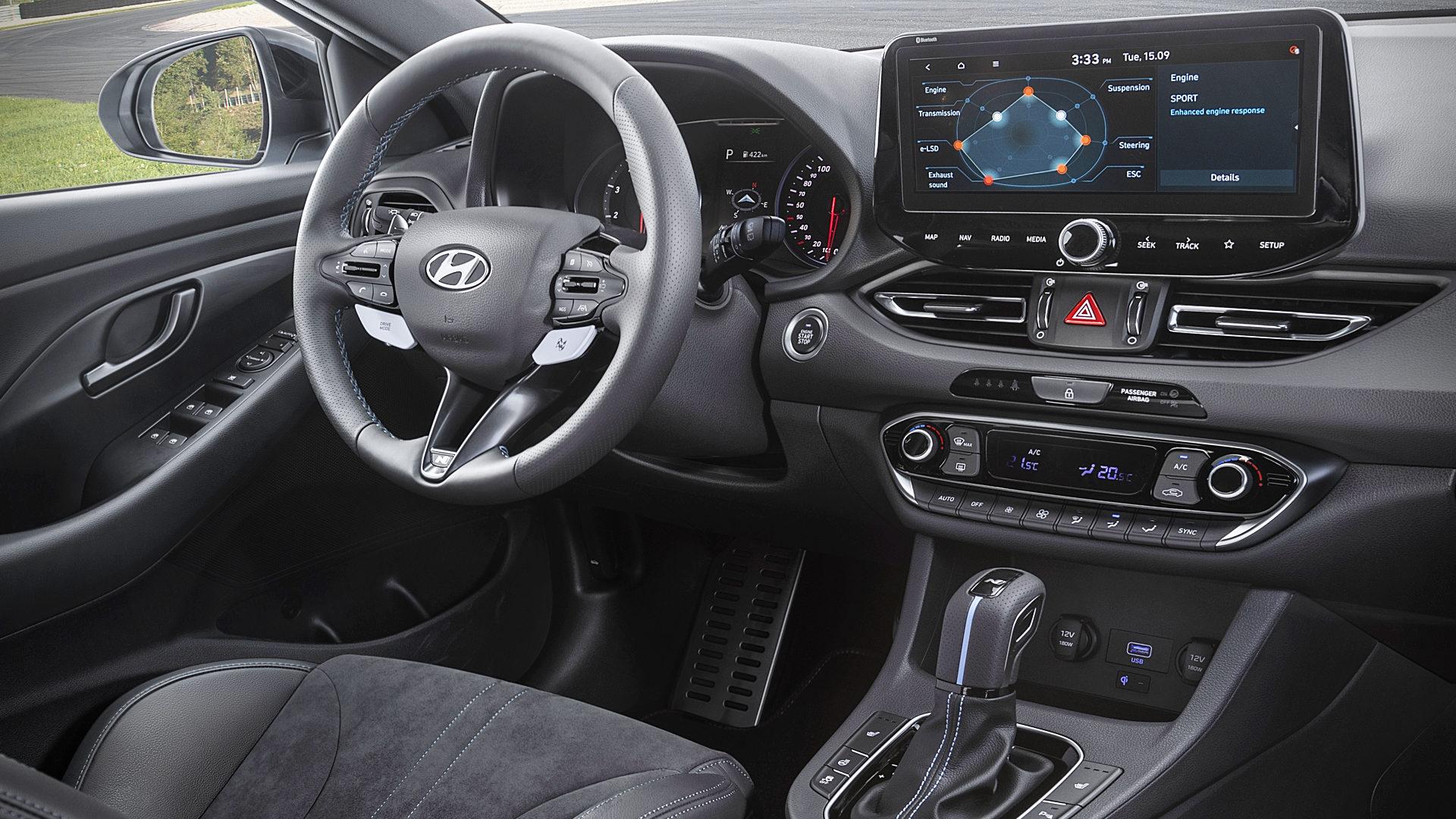 2021 Hyundai i30 N Interior