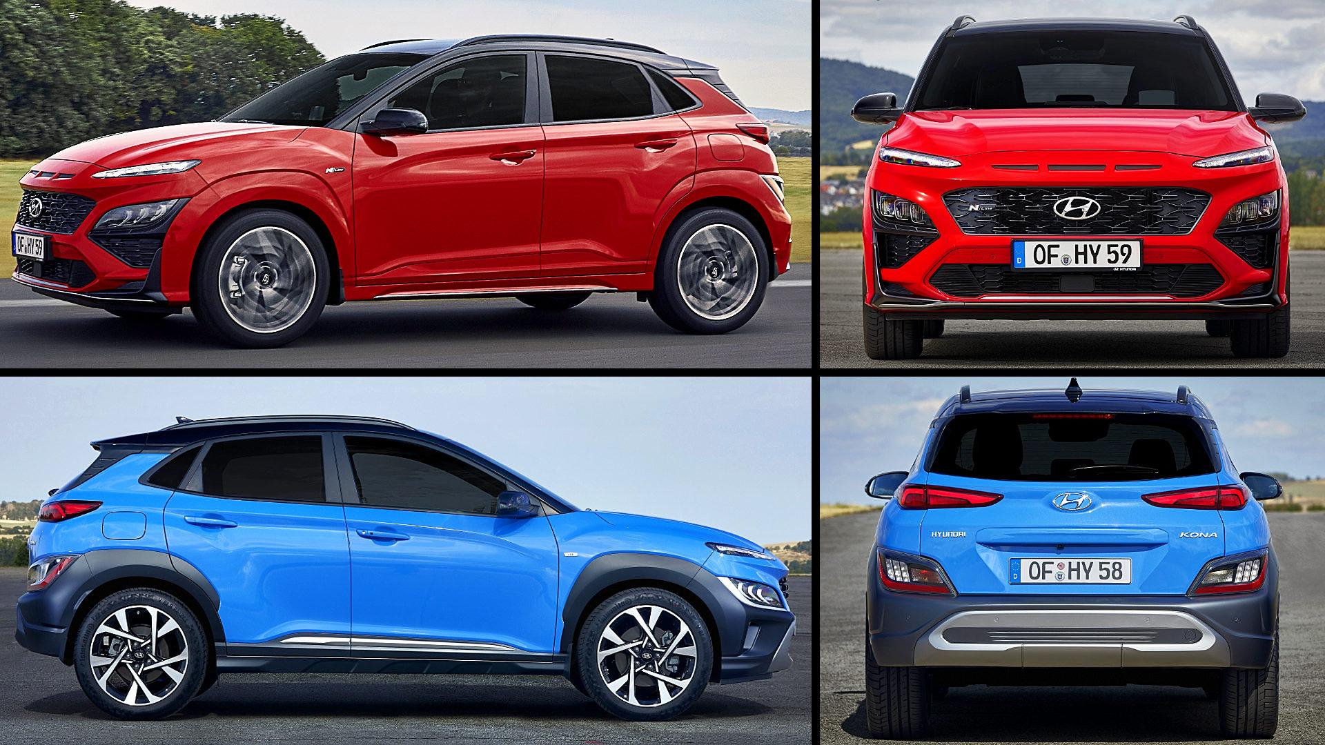 2021 Hyundai Kona Hybrid Colors