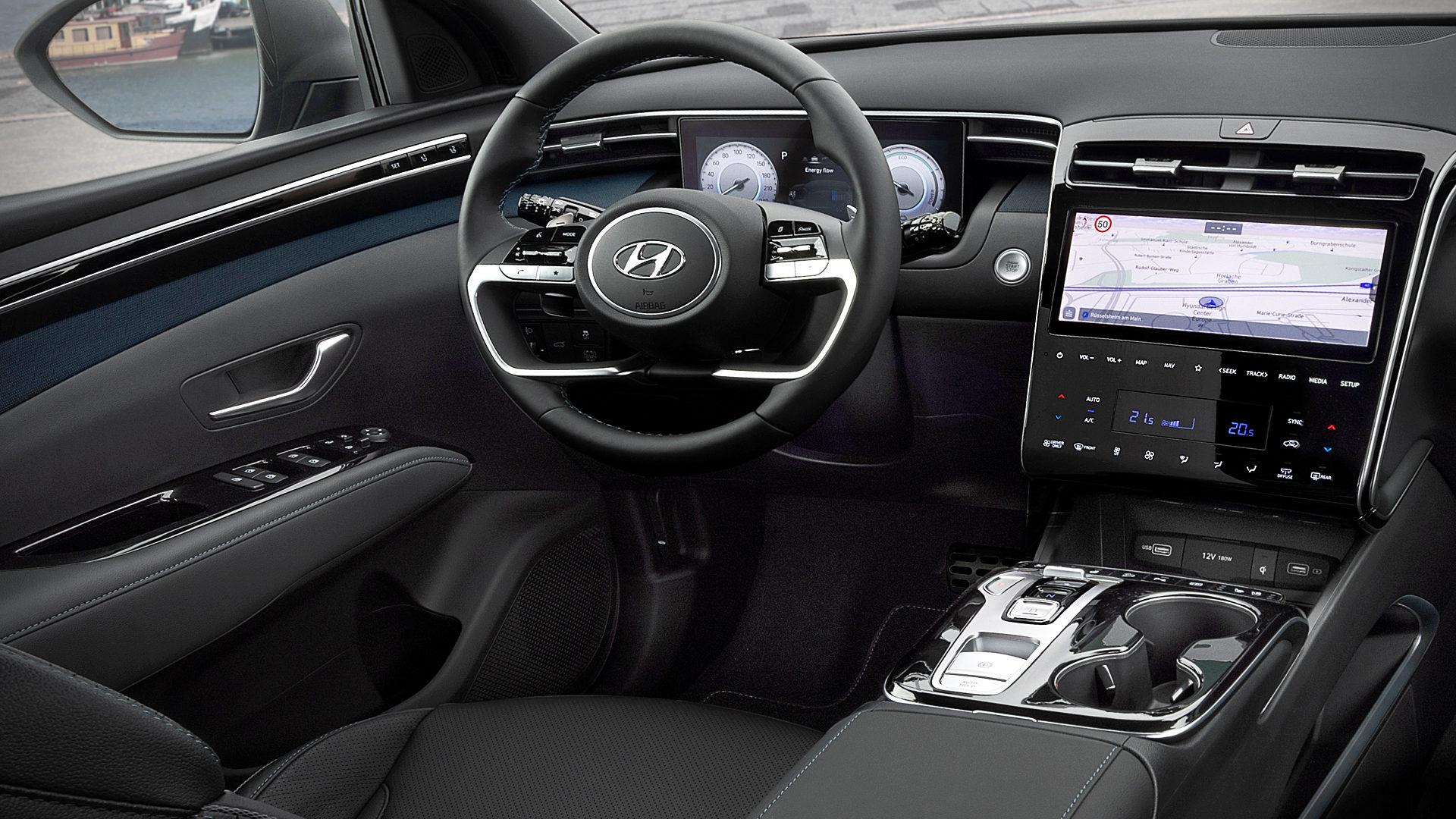 2021 Hyundai Tucson Hybrid Interior