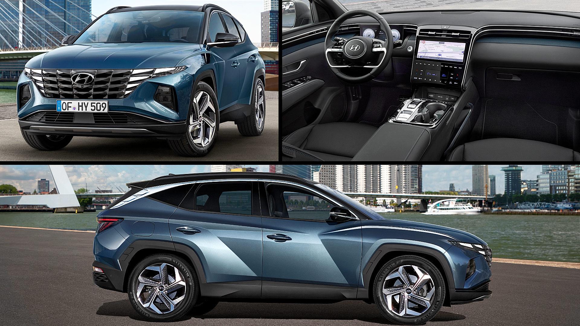 2021 Hyundai Tucson Hybrid Pictures
