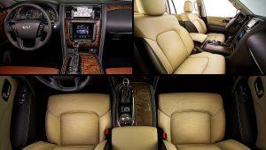 2021 Infiniti QX80 Inside Interior