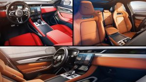 2021 Jaguar F-Pace Inside Interior