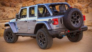 2021 Jeep Wrangler 4xe Rubicon Images