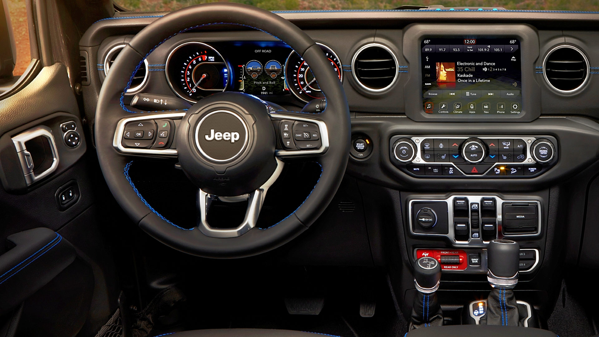 2021 Jeep Wrangler Interior Inside