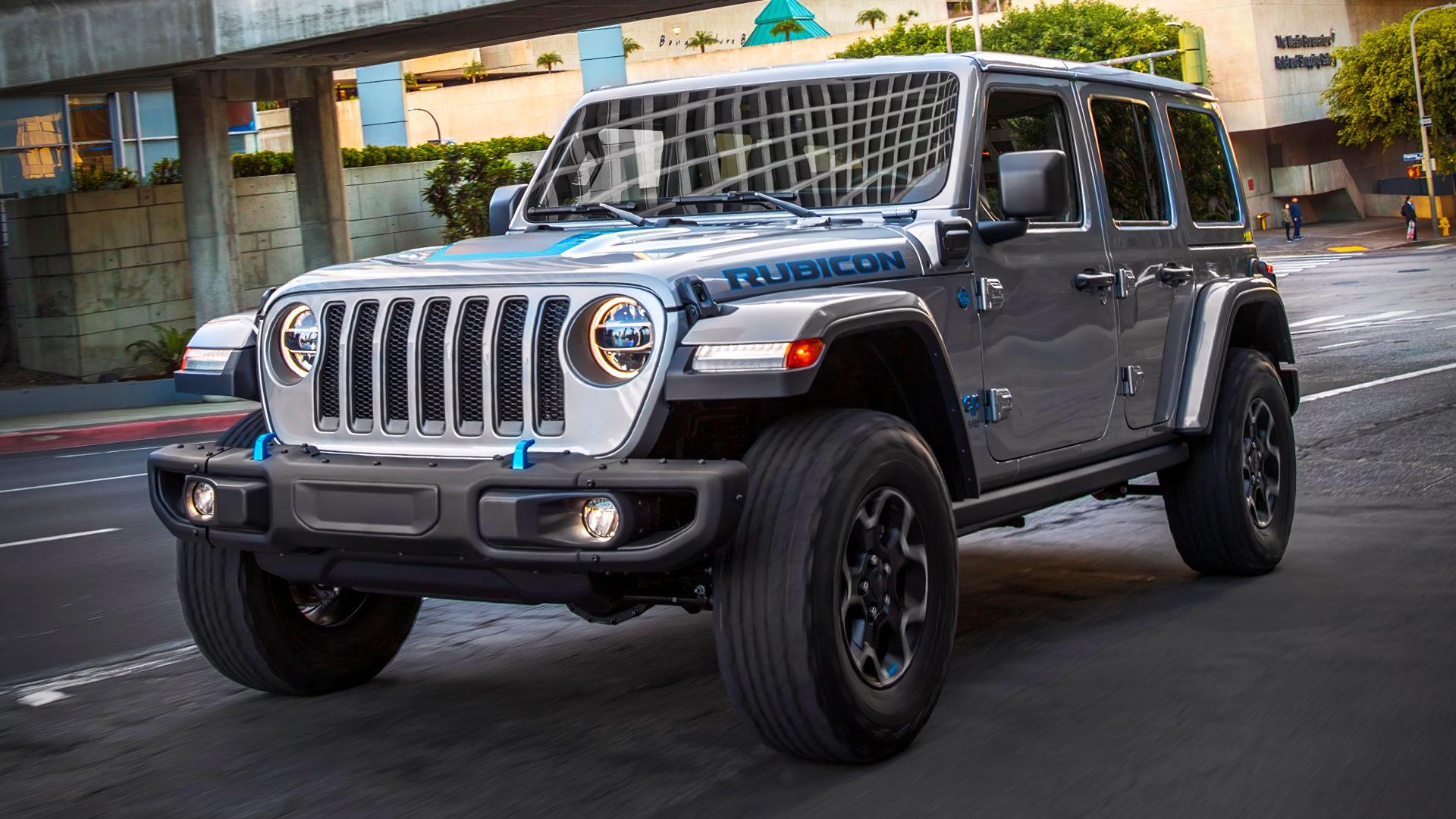 2021 Jeep Wrangler Rubicon 4xe 1