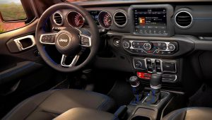 2021 Jeep Wrangler Unlimited Rubicon 4xe Interior