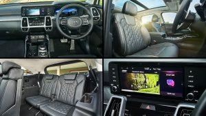 2021 Kia Sorento GT-Line Interior