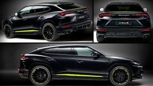 2021 Lamborghini Urus Black SUV