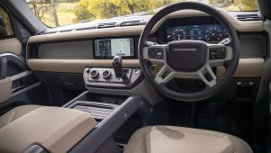 2021 Land Rover Defender 110 Interior
