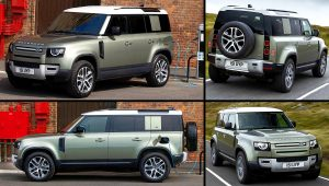 2021 Land Rover Defender 110 P400e Urban Pack Images