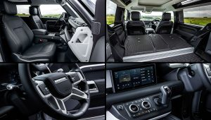 2021 Land Rover Defender 90 Interior Inside
