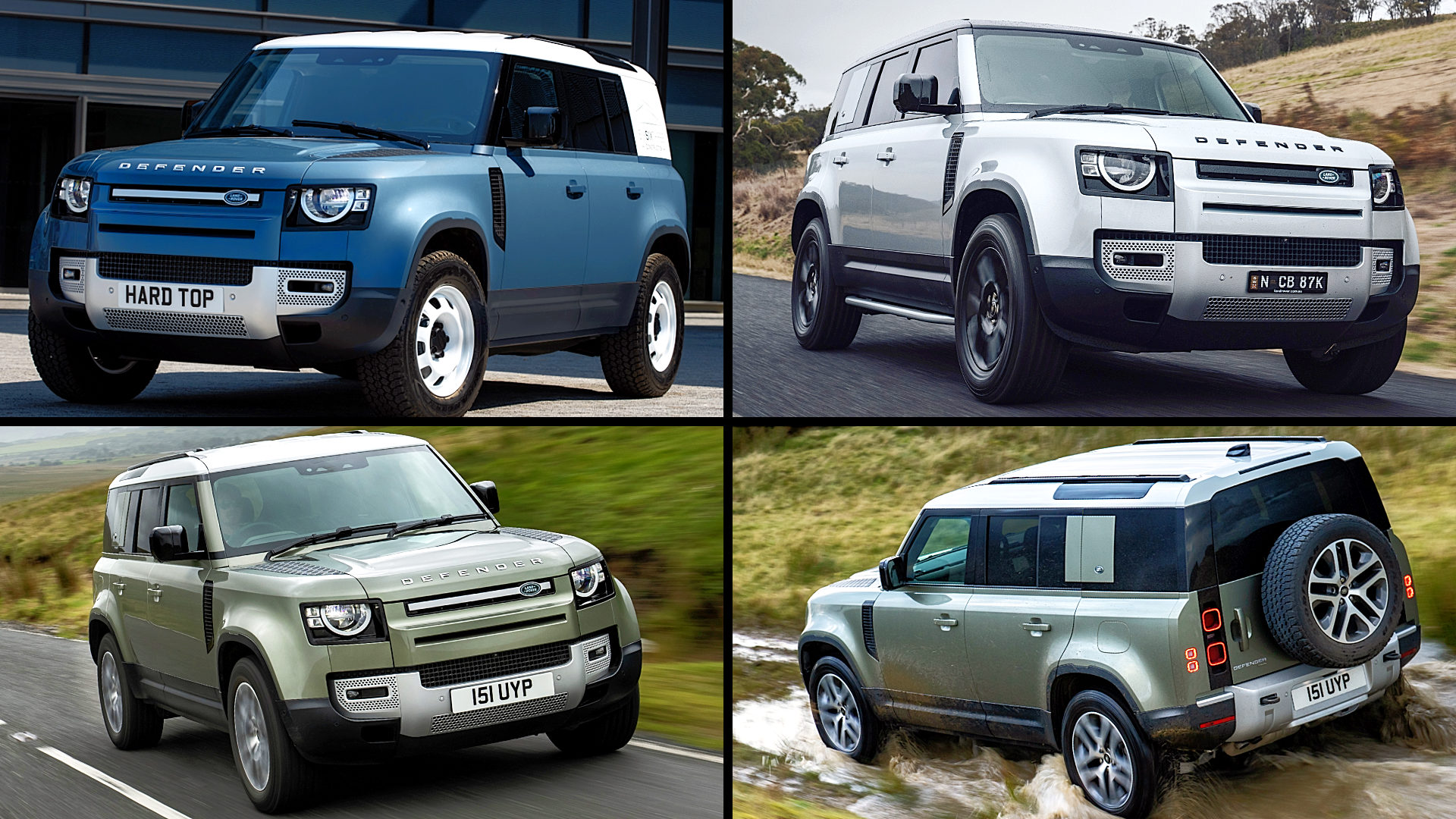 2021 Land Rover Defender USA 4 Door Images