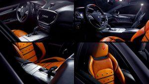 2021 Maserati Ghibli Trofeo Corse Interior