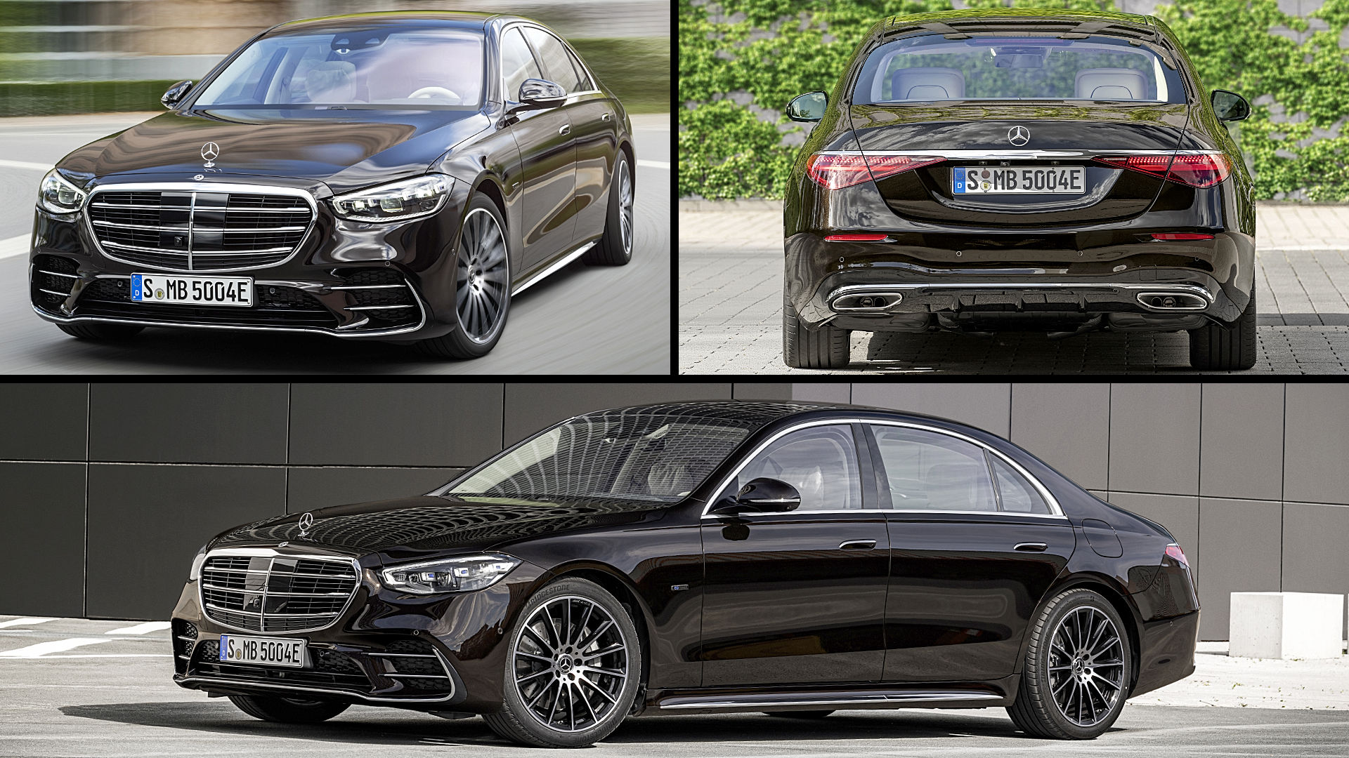 2021 Mercedes S-Class Black