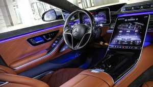 2021 Mercedes-Benz S-Class Inside Interior