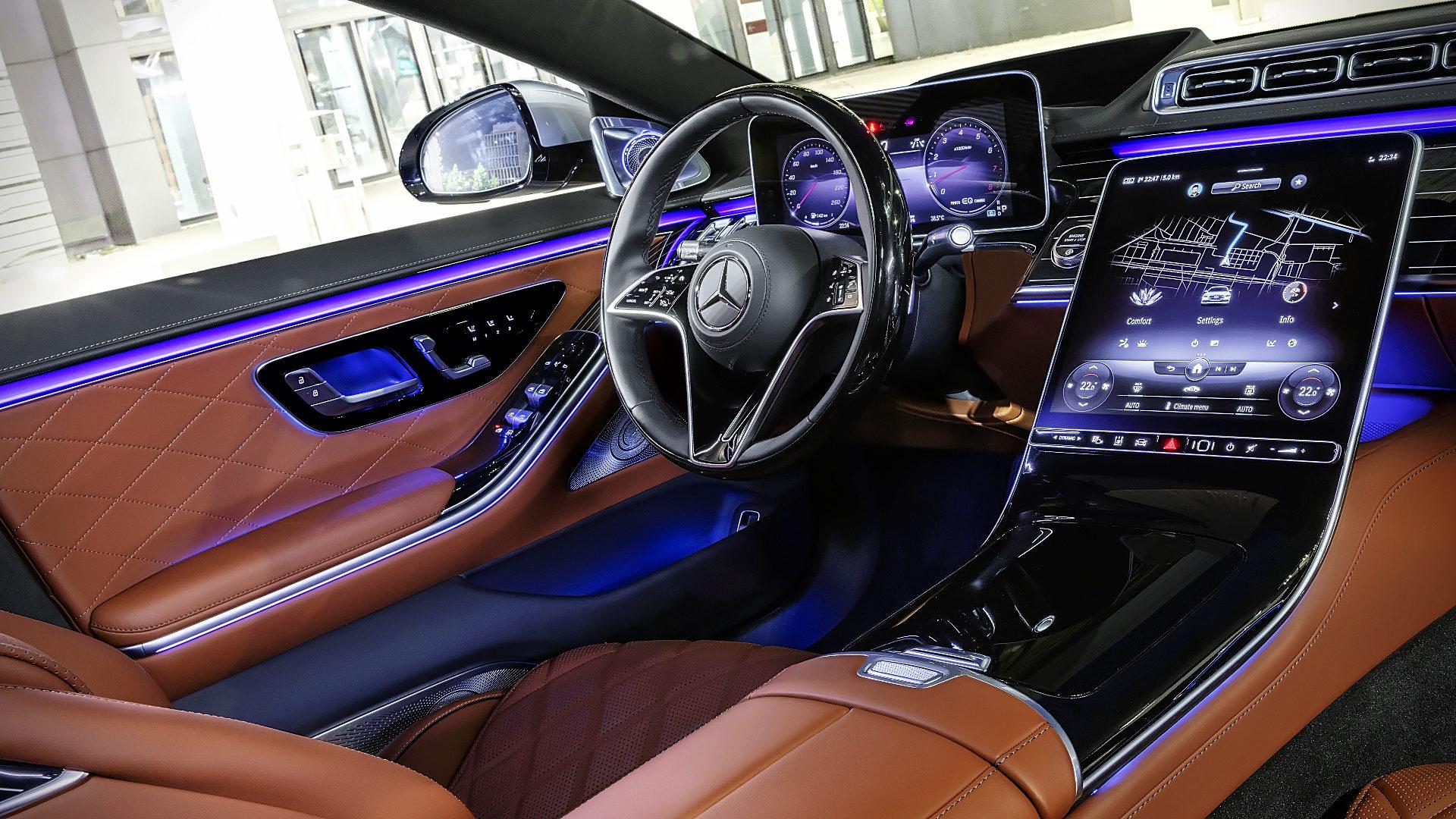 2021 Mercedes-Benz S-Class Inside Interior