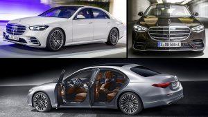 2021 Mercedes S-Class Colors Images