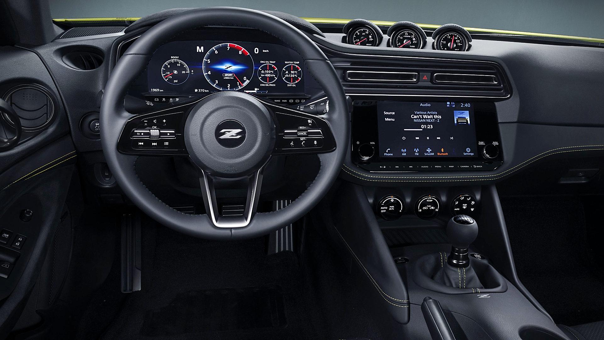 2021 Nissan Z Proto Interior