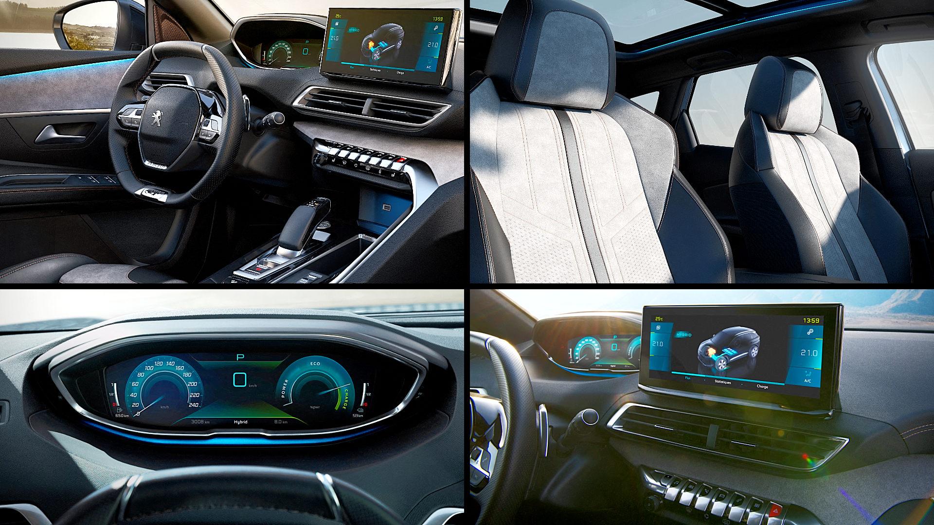 2021 Peugeot 3008 HYBRID4 Interior Inside