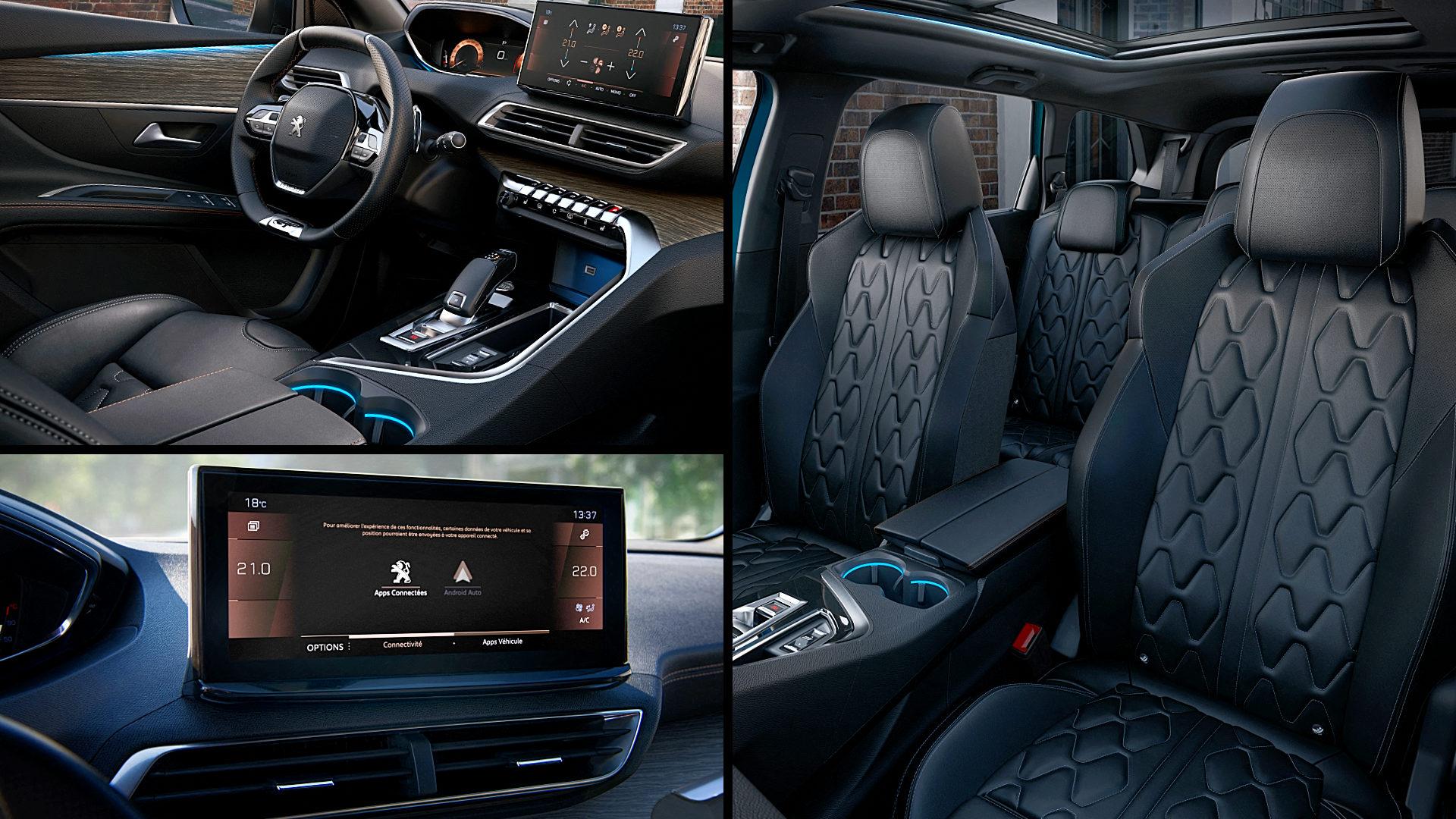 2021 Peugeot 5008 GT Interior Inside
