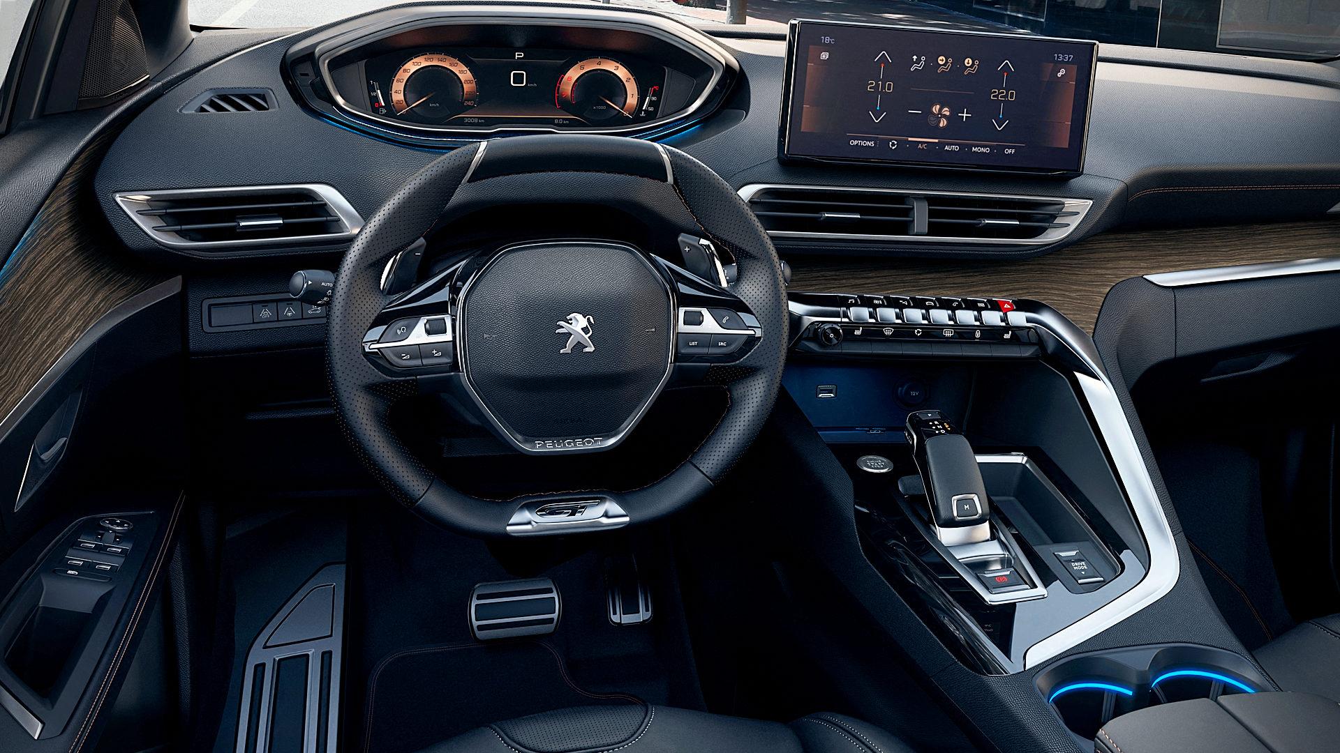 2021 Peugeot 5008 Interior