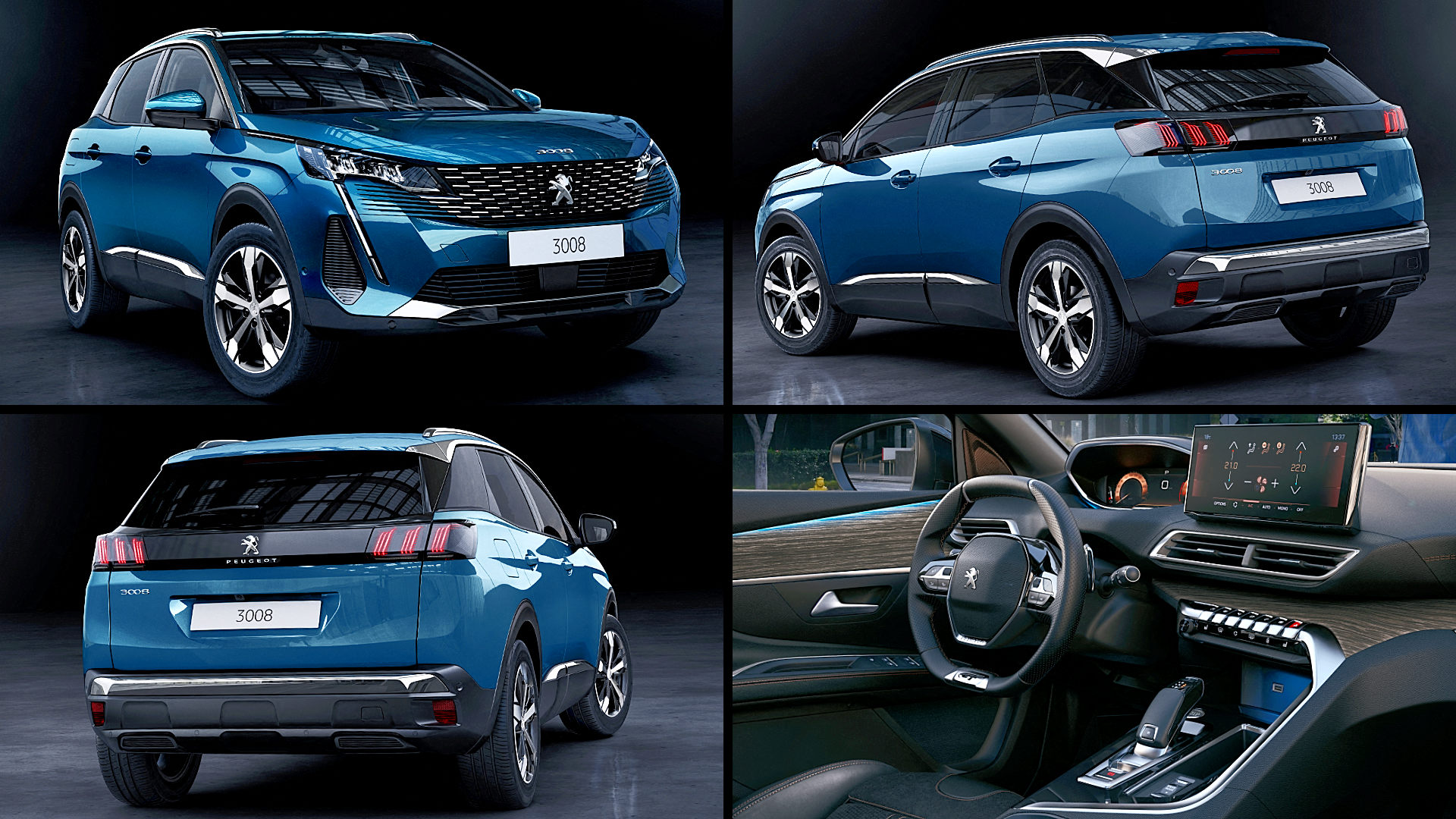 2021 Peugeot SUV 3008 Images