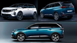 2021 Peugeot SUV 5008 GT Colors