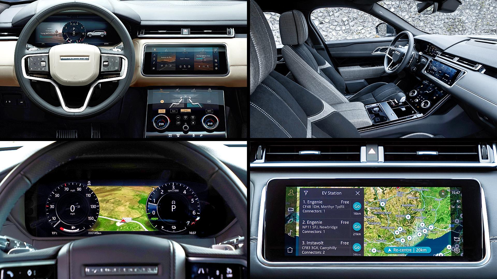 2021 Range Rover Velar R-Dynamic P400e Interior