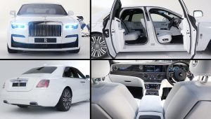 2021 Rolls-Royce Ghost White Luxury Car Pics
