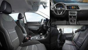 2021 Seat Ateca Xperience Interior