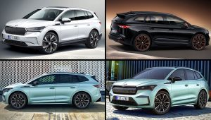 2021 Skoda Enyaq iV Crossover SUV Models Colors Photos
