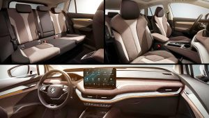 2021 Skoda Enyaq iV Electric Crossover Interior Images