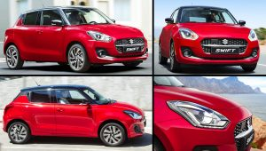 2021 Suzuki Swift Hybrid AllGrip Red