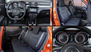 2021 Suzuki Swift Hybrid Interior Images