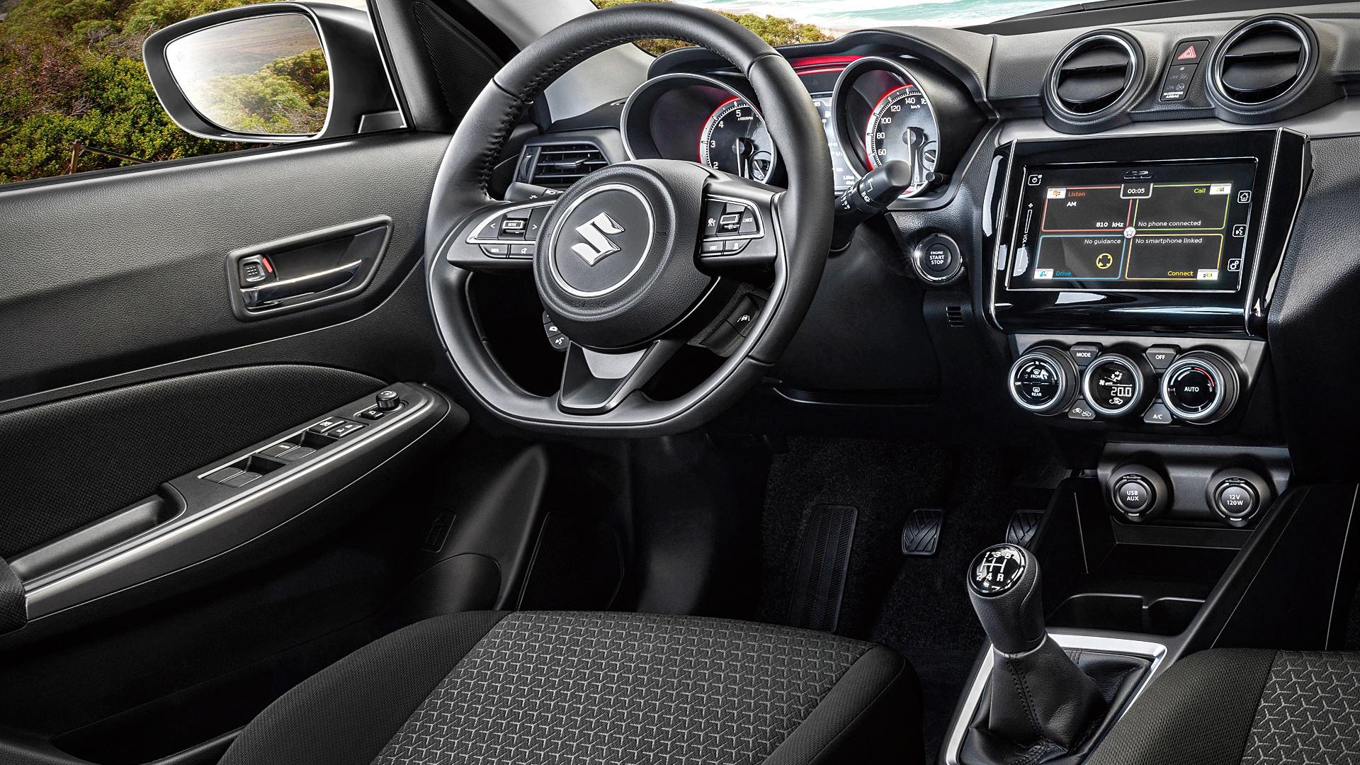 2021 Suzuki Swift Interior