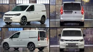 2021 Volkswagen Caddy Kasten White