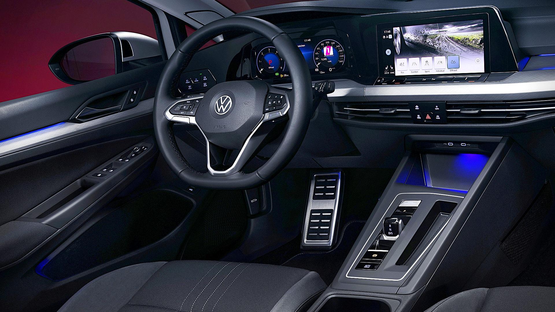 2021 Volkswagen Golf Alltrack Interior