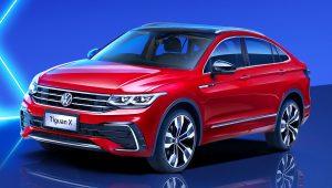 2021 Volkswagen Tiguan X R-Line Red