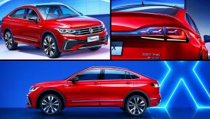 2021 Volkswagen Tiguan X Coupe SUV Images